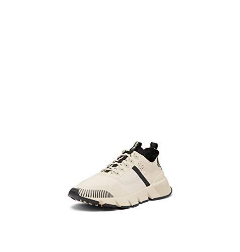 Sorel Men's Kinetic Rush Ripstop Sneaker - Fawn, Black - Size 7