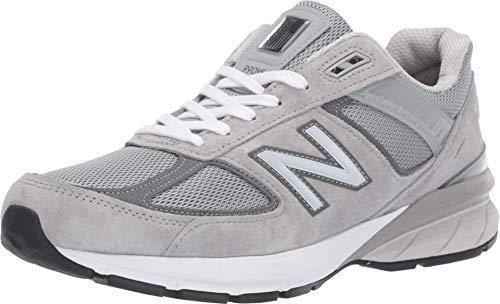 New Balance Men's Made in US 990 V5 Sneaker, Grey/Castlerock, 7