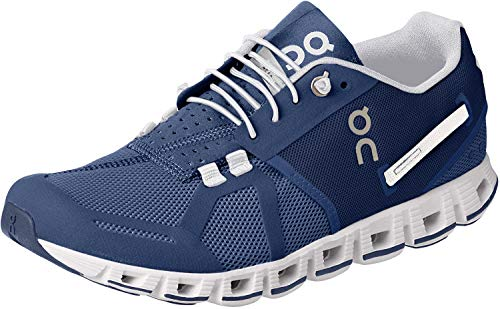 On Running Women's Cloud Active Shoe Denim/White Size 7.5
