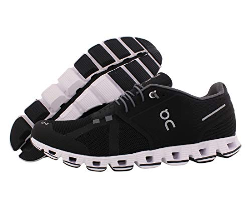 ON Running Mens Cloud Road Shoes Black/White SZ 7