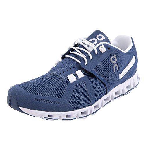 ON Running Women's Cloud Active Shoe Denim/White Size 7.5