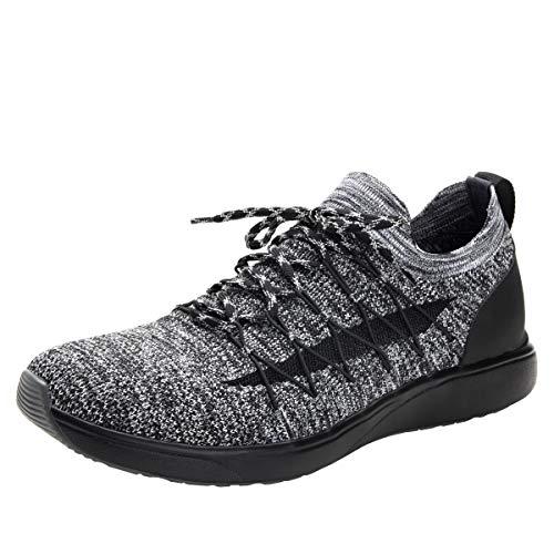 Alegria TRAQ Synq Mens Smart Walking Shoe Black 12 M US