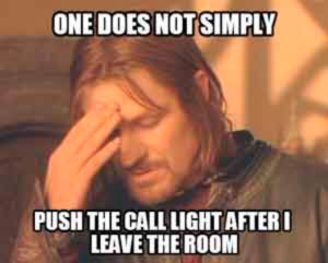 Male nurse memes - The Call Light
