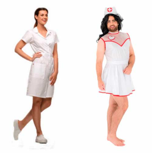 Female vs. male nurse