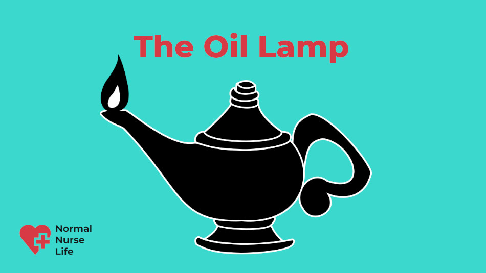 Nursing symbol - The Oil Lamp