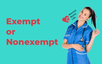 Are Registered Nurses Exempt or Nonexempt?