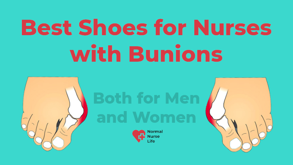 7 Best Shoes for Nurses with Bunions