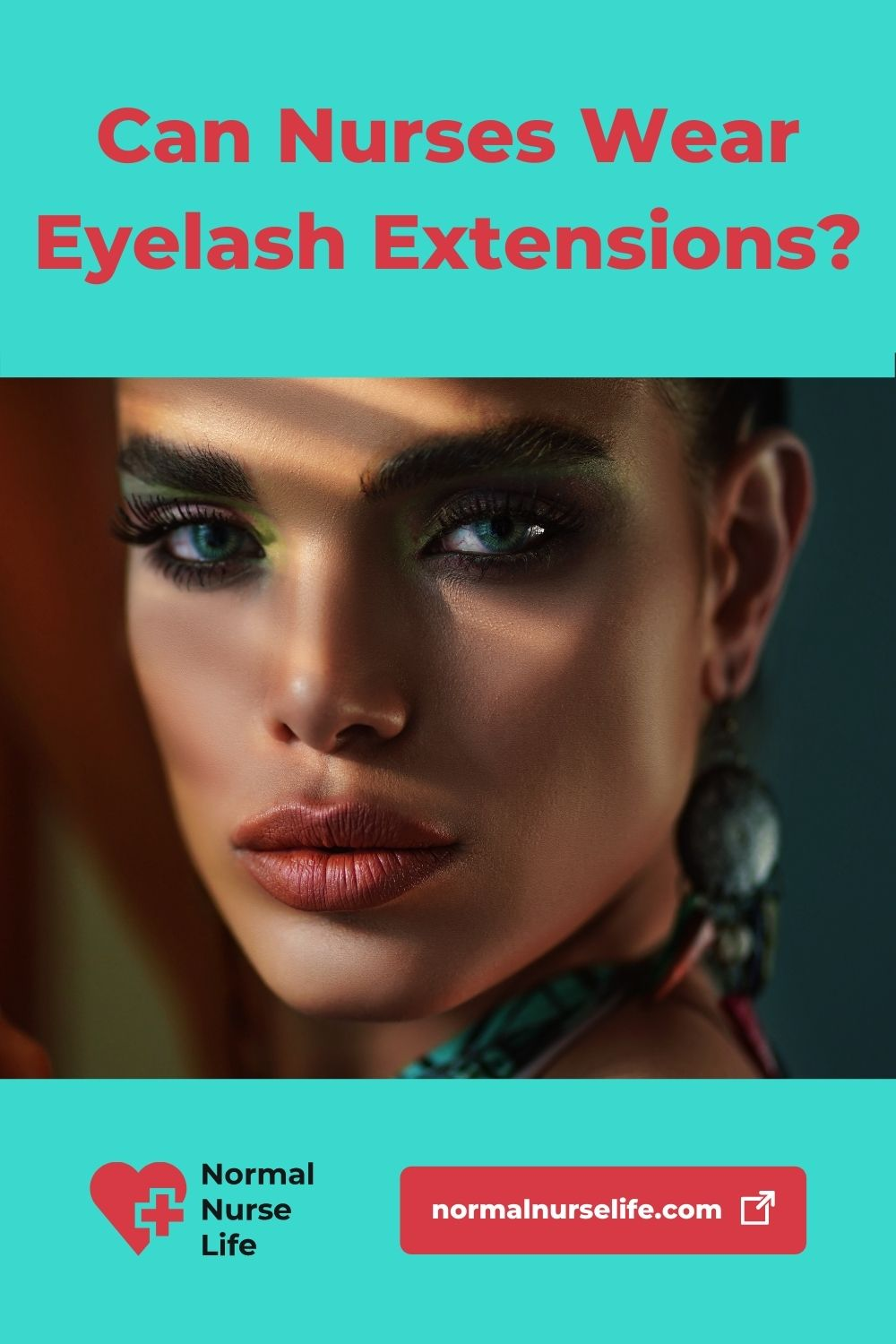 Can nurses wear eyelash extensions or not