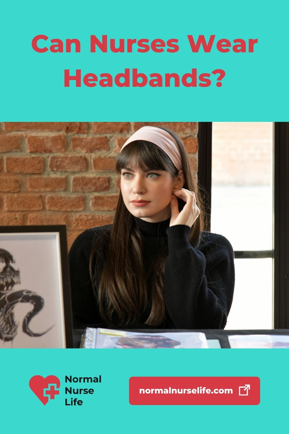 Can nurses wear headbands or not