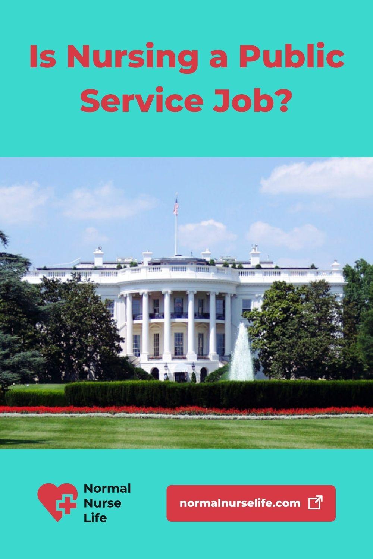 Is nursing a public service job or not