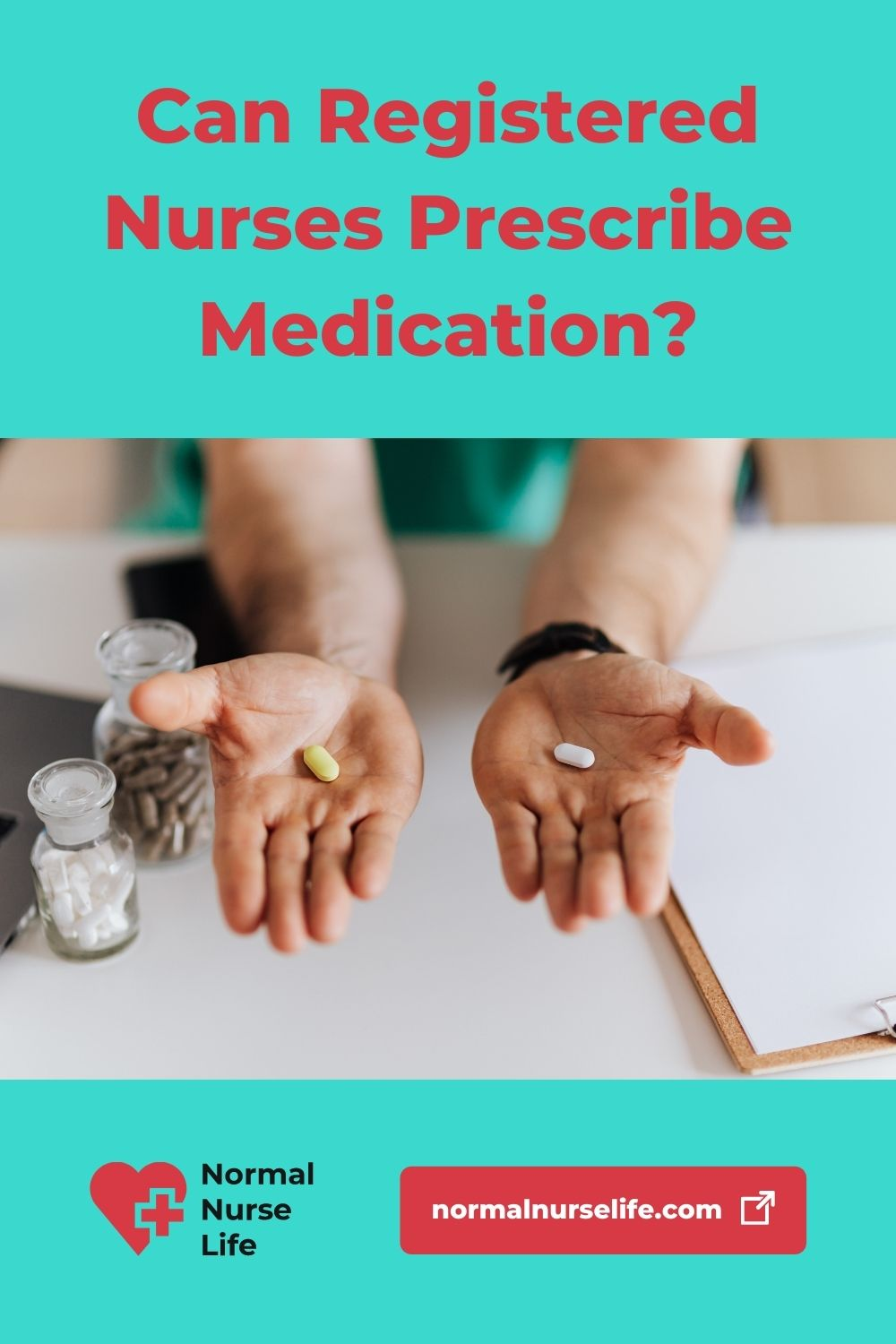Can registered nurses prescribe medication or not