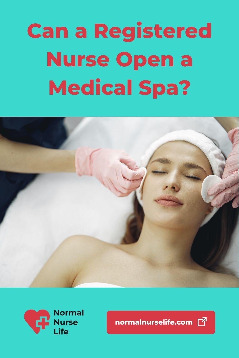 Can a registered nurse open a medical spa or not