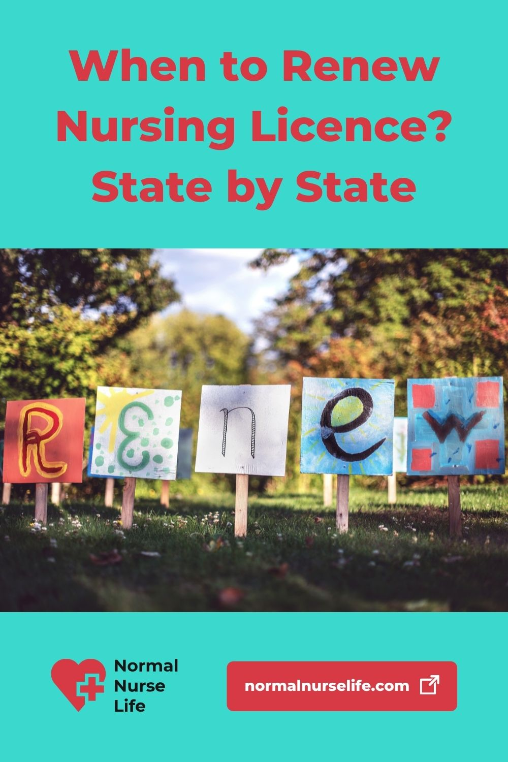 When to renew a nursing license? State by state