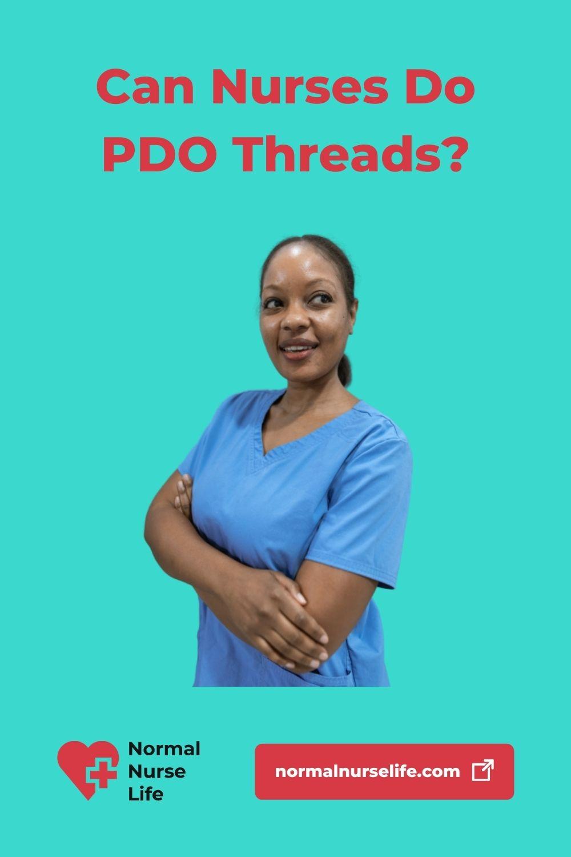 Can nurses do PDO thread lifts