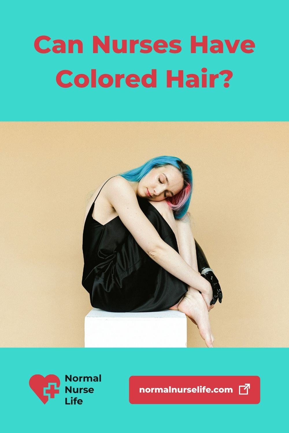 Can nurses have colored hair or not